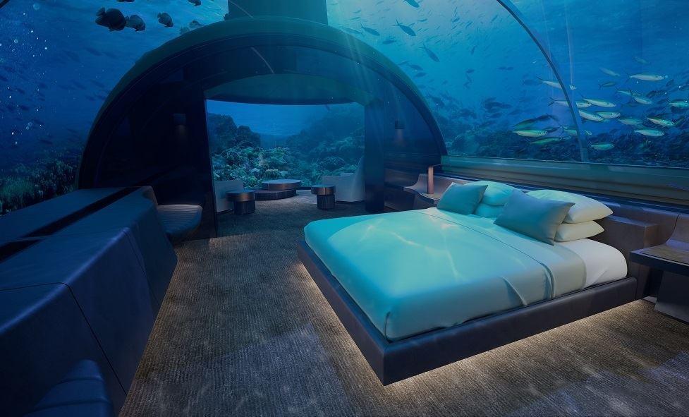 Перший підводний готель відкрили на Мальдивах (ВІДЕО)