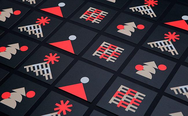 Гарний приклад, як робити модерні різдвяні принти (ФОТО)