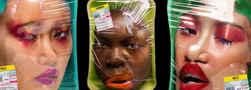 """""""Свіже м'ясо"""": серія шокуючих фото про сучасний світ краси (ФОТО)"""