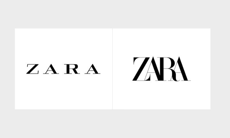 Ребрендинг Zara: дизайнерам забракло місця на полотні?