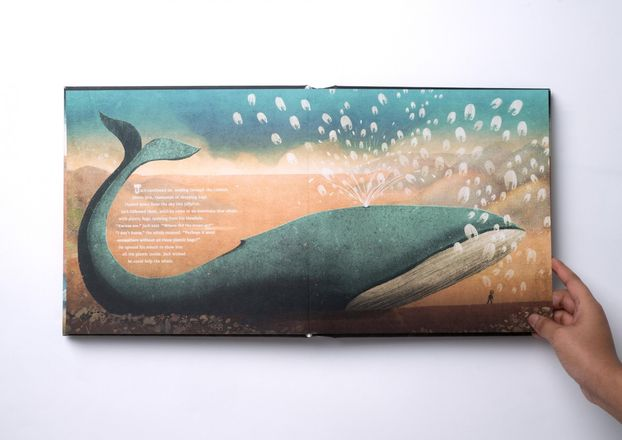 The Day the Ocean Went Away – повчальна книжка для дітей, із гарними ілюстраціями (ФОТО)