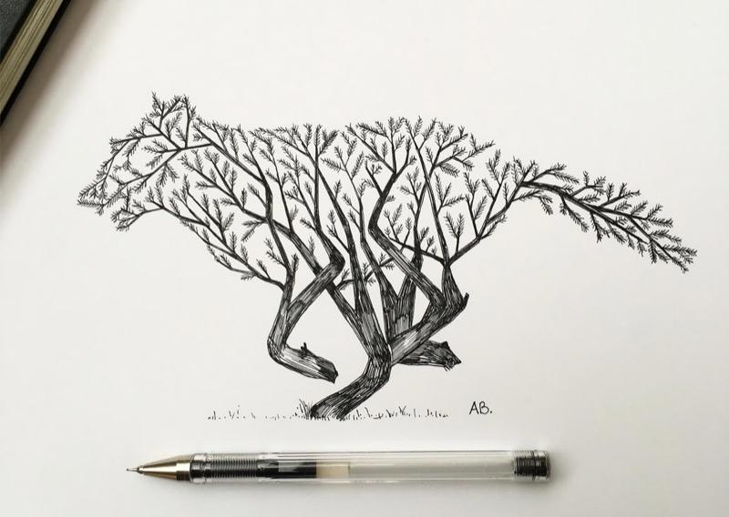 Доведено італійцем: для створення художнього чуда достатньо лише ручки (ФОТО)