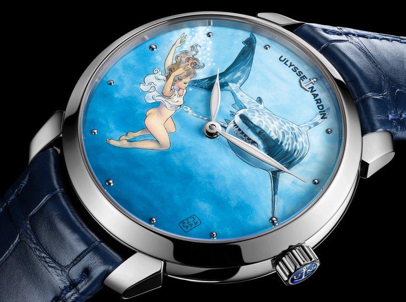 """Виробник розкішних швейцарських годинників випустив """"еротичну"""" серію (ФОТО)"""