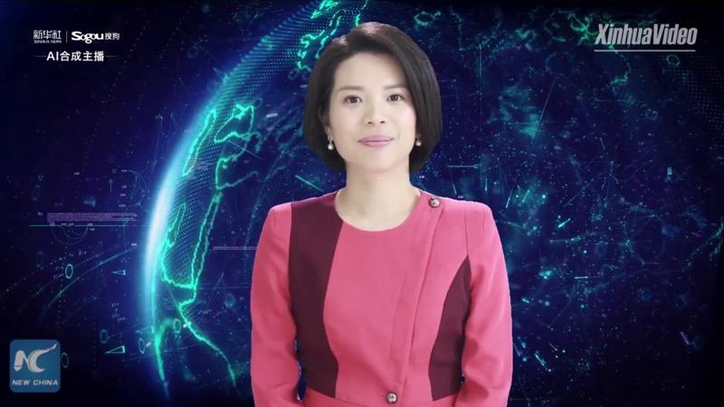 Нові обрії для дизайну: в Китаї з'явилася перша у світі цифрова телеведуча (ВІДЕО)