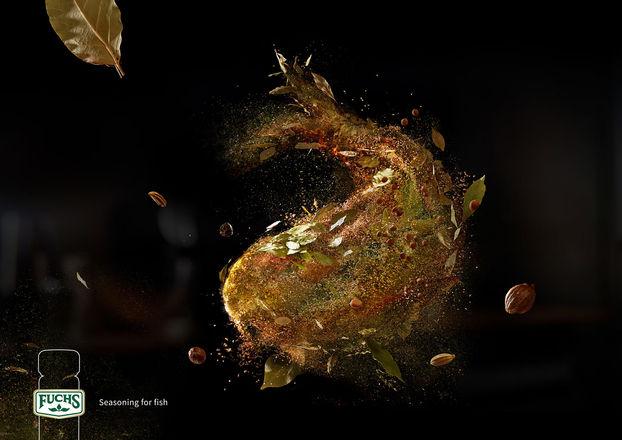 Креативний дизайн реклами від MullenLowe: принти із… пряних сумішей (ФОТО)