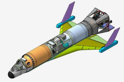 """Дизайн першого російського """"гіперзвукового космічного дрона"""" викликав хвилю критики (ФОТО)"""