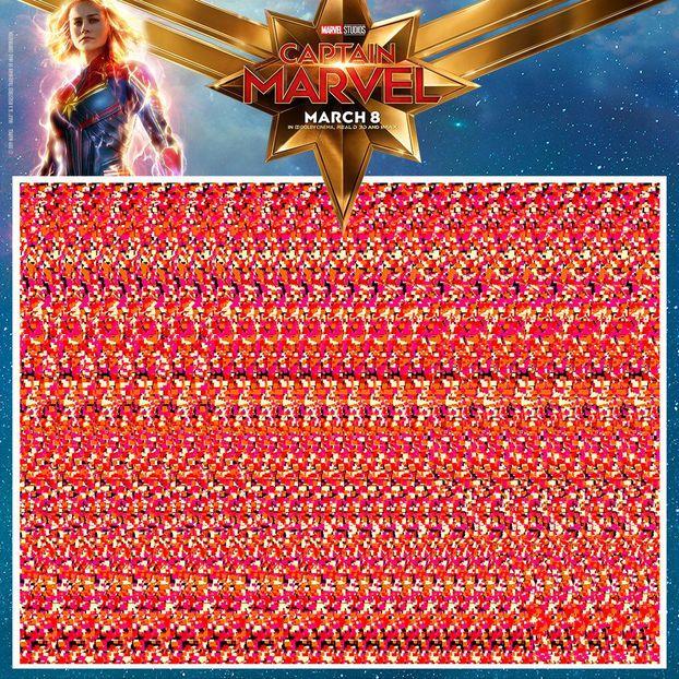 """І знову дизайн із 90-х: ПРИКОЛЬНІ 3D постери """"Капітана Марвел"""" (ФОТО)"""