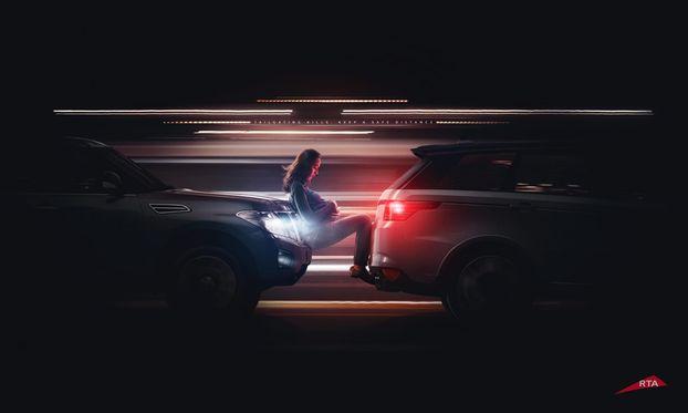 Вражаючий дизайн принтів із ОАЕ – про правила дорожнього руху (ФОТО)