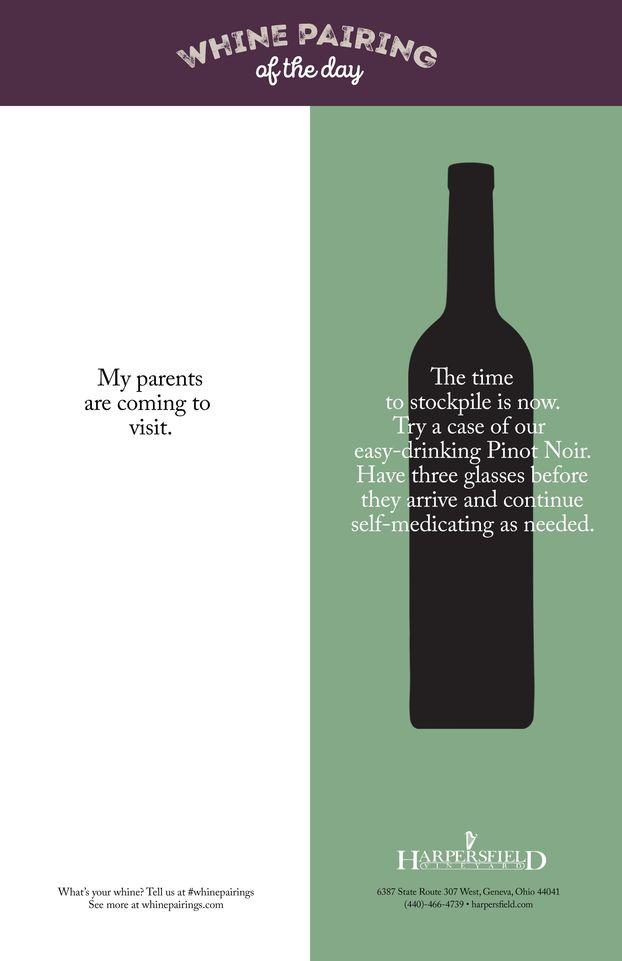Дуже простий, але класний дизайн принтів про вино (ФОТО)