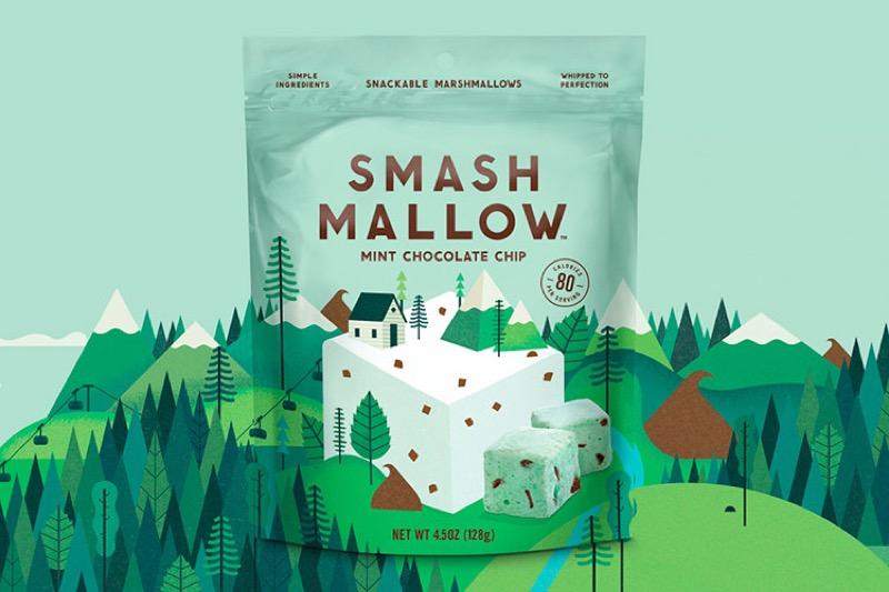 Підкресліть органічність продукту гарною ілюстрацією – кейс SmashMallow (ФОТО)