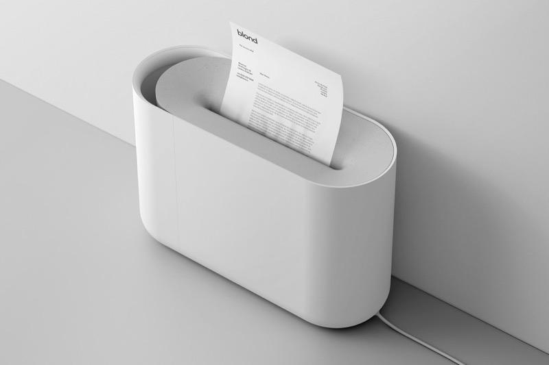 Сила мінімалізму, або як переробили дизайн шредера для паперу (ФОТО)