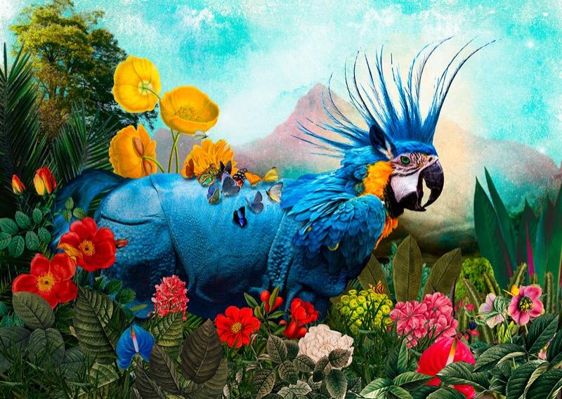 Мікс природи: ДУЖЕ барвисті ілюстрації химерних звірів (ФОТО)