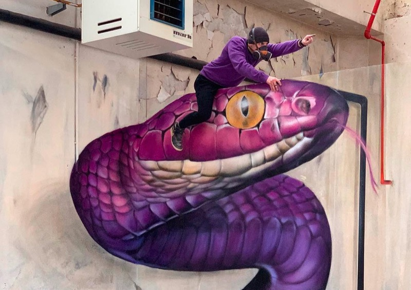 Приголомшливий тривимірний стріт-арт від француза (ФОТО)