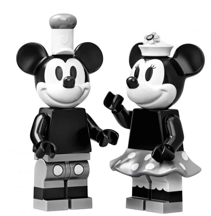 Lego випустить унікальну колекцію – із дизайном у стилі 1-го мультфільму про Міккі-Мауса (ФОТО)