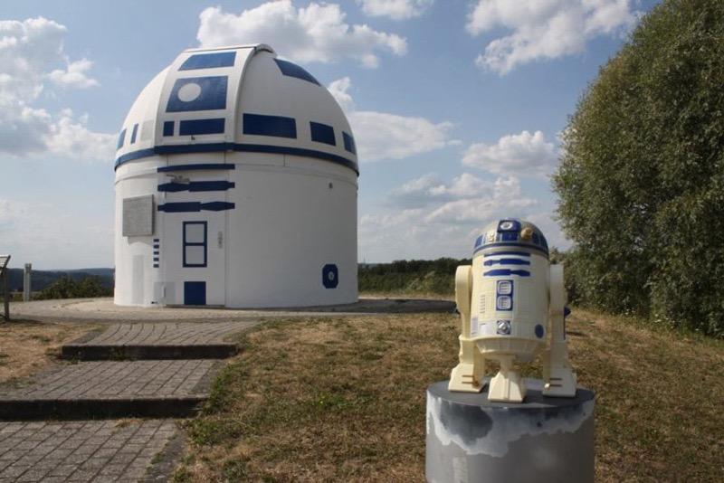 У Німеччині з обсерваторії зробили … культового R2-D2 (ФОТО)