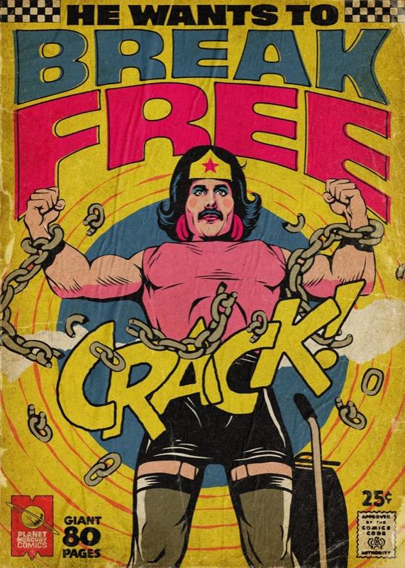 Мода на Фредді Мерк'юрі – комікс версія (ФОТО)