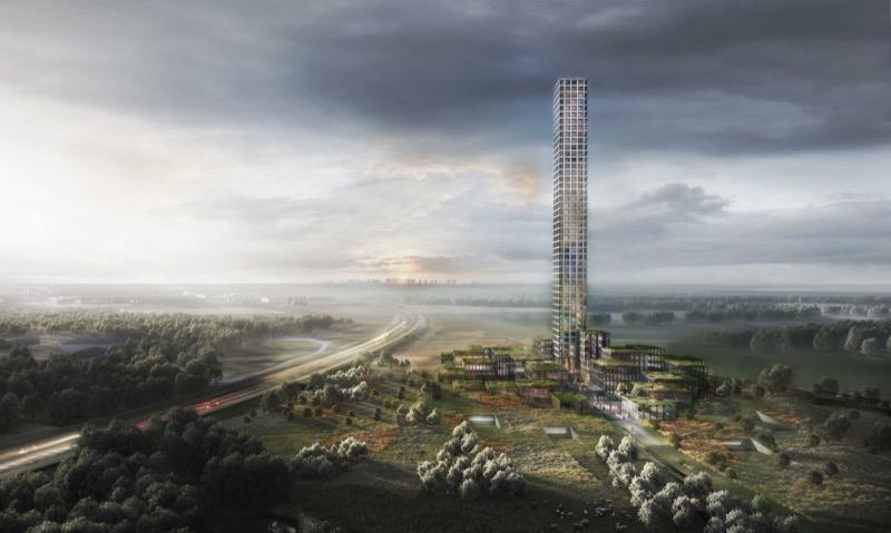 Оригінально: найвищий будинок Західної Європи побудують у маленькому містечку в Данії (ФОТО)