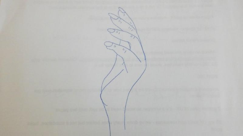 Жесть-експеримент: Наскільки легко намалювати руку? (ВІДЕО)