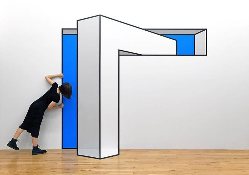 Прості, але дивовижні оптичні ілюзії від художника з Нью-Йорка (ФОТО)