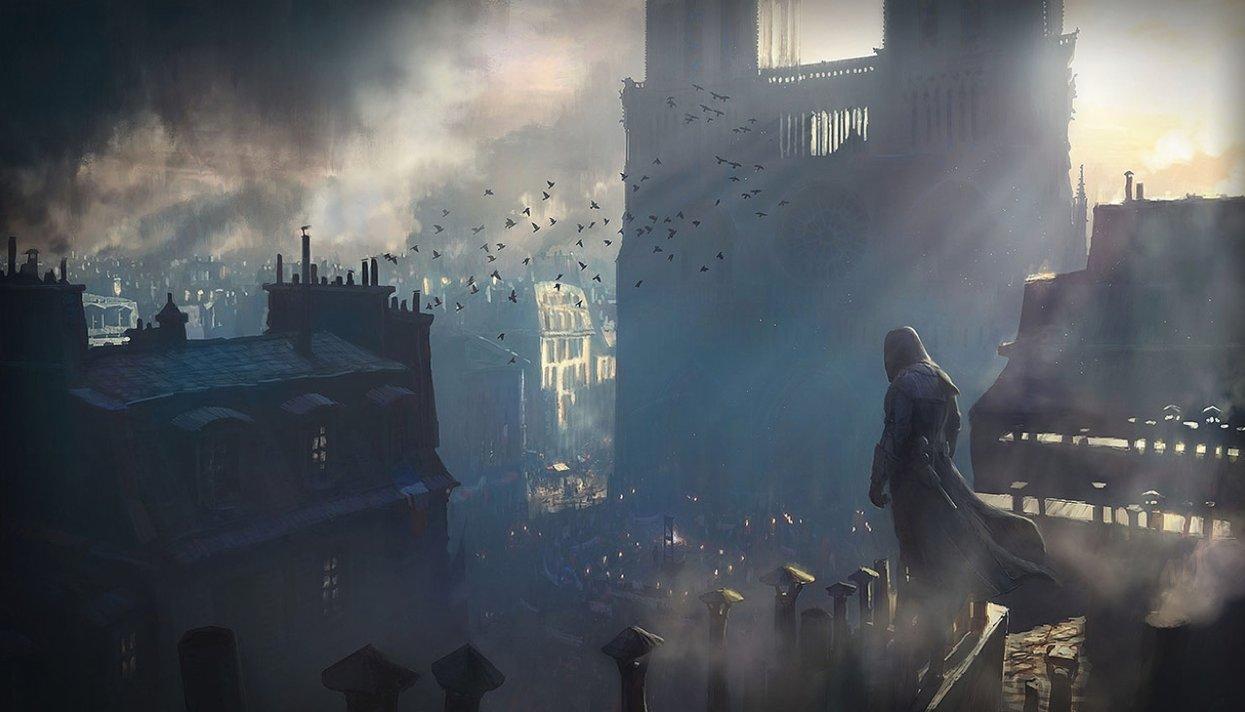 Як дизайн Assassin's Creed Unity допоможе відбудувати собор Паризької Богоматері