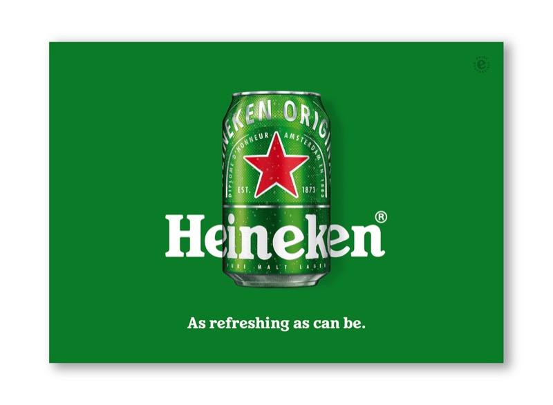 Сміливий підхід до брендингу пива: новий дизайн банки Heineken (ФОТО)