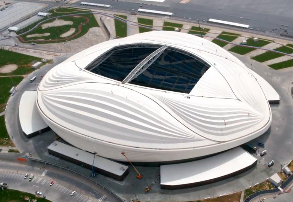У Катарі відкрився Al Wakrah – найефектніший стадіон ЧС 2022, за дизайном Захи Хадід (ФОТО, ВІДЕО)