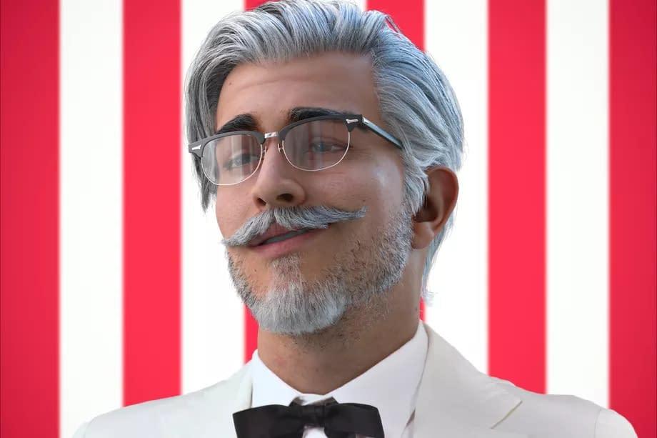 Віртуальний дизайн захоплює світ: у KFC новий полковник Сандерс – віртуальна Instagram-модель