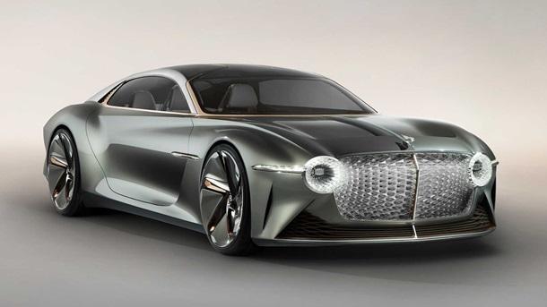 Космічний дизайн від Bently: електричний концепт-кар EXP 100 GT (ФОТО)