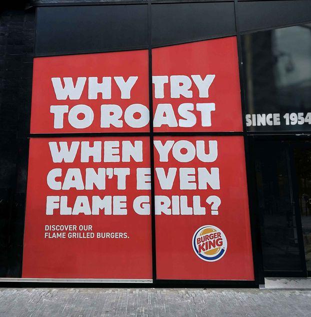 Троллінг 99 левела: Як креативники McDonald's і Burger King воюють у Бельгії (ФОТО)