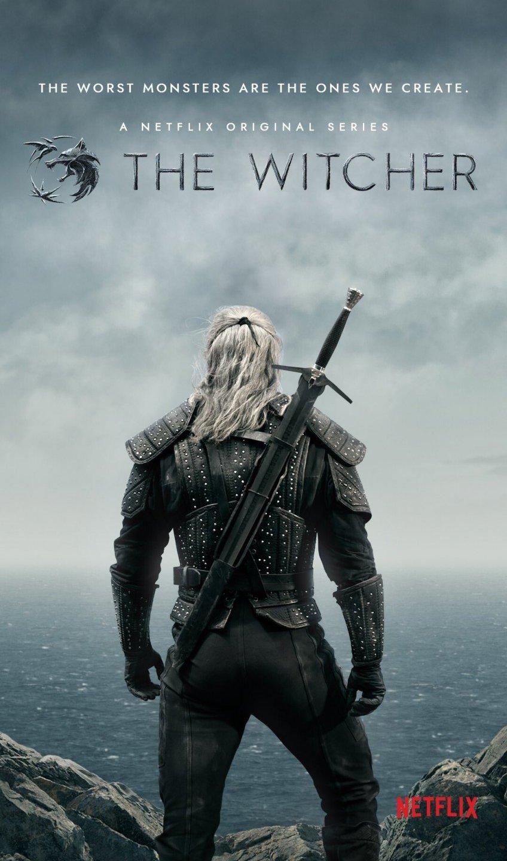 """Netflix показав перші фотографії, постери і логотип серіалу """"Відьмак"""""""