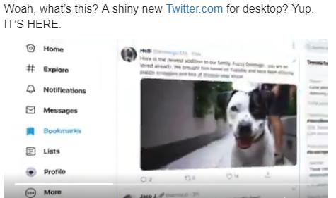 Twitter анонсувала оновлення дизайну для PC: що зміниться?