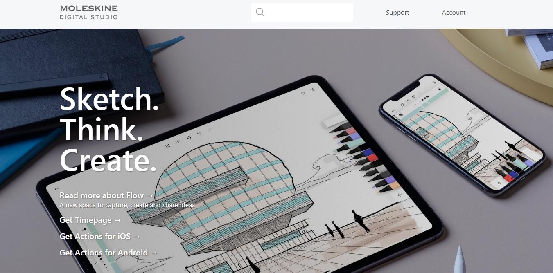Нові корисні інструменти для дизайну та інші цікавинки: Vector Flow, Plectica, Dislack, Moleskine Studio + ще 1