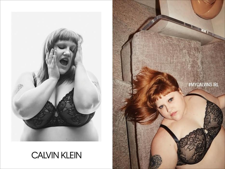 Боді-позитив змінив фешн назавжди: чергова пишна модель стала обличчям Calvin Klein