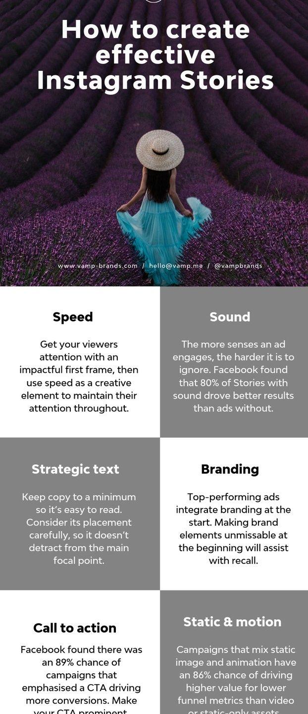 Як правильно робити ефективні історії в Instagram у 2019: 6 секретів (Інфографіка)