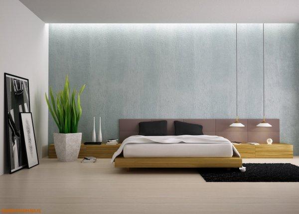 стіна в стилі мінімалізм фото