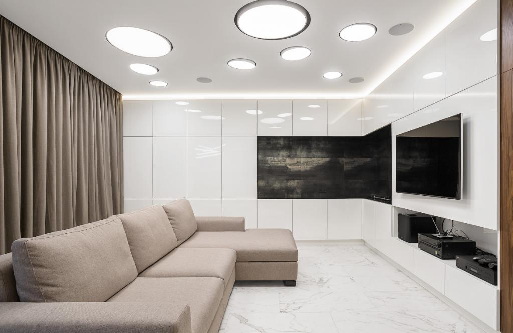Дизайн квартири в стилі мінімалізм фото