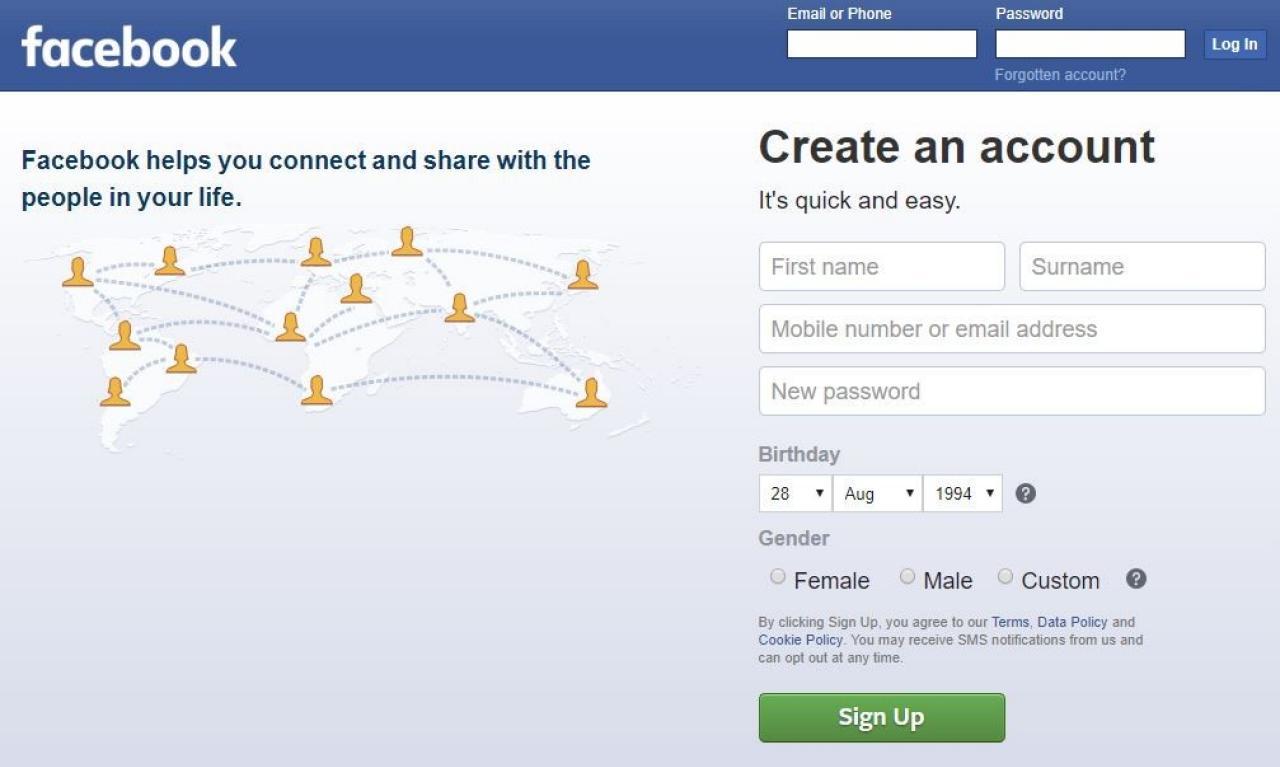 Facebook тишком-нишком кардинально змінив своє знамените гасло (ФОТО)