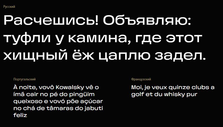"""""""Студія Лебедєва"""" випустила акцидентний гротескний шрифт """"Горизонт"""""""