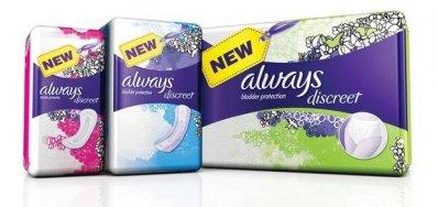 """P&G відмовиться від """"жіночого"""" символу на дизайні упаковок Always"""