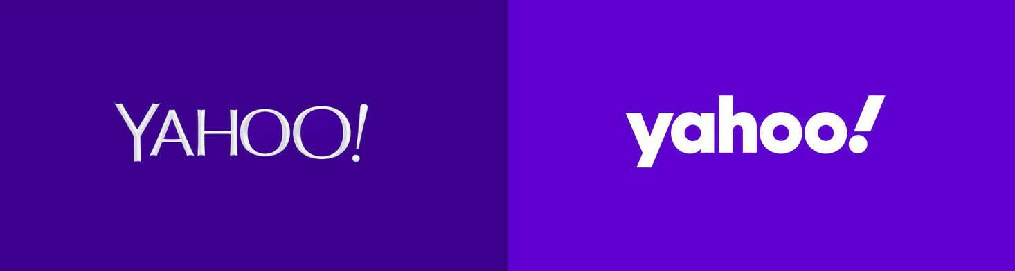 Yahoo логотипи