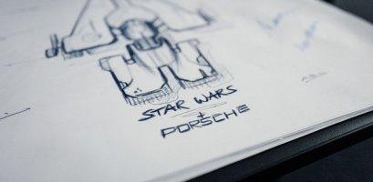 """Дизайнери Porsche і Lucasfilm проектують зореліт до нових """"Зоряних воєн""""!"""