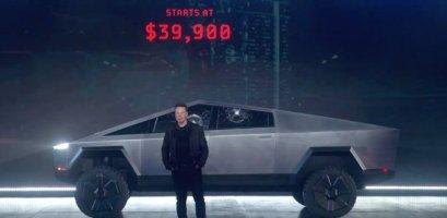 Маск показав феєричний дизайн нового пікапа Cybertruck – і соцмережі вибухнули від сміху