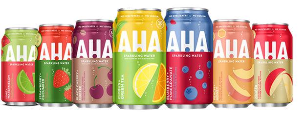 Aha бренд Coca-Cola