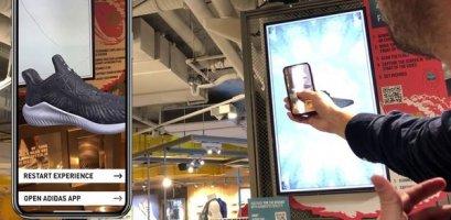 AR дизайн у дії: Adidas запустив віртуальну примірку кросівок