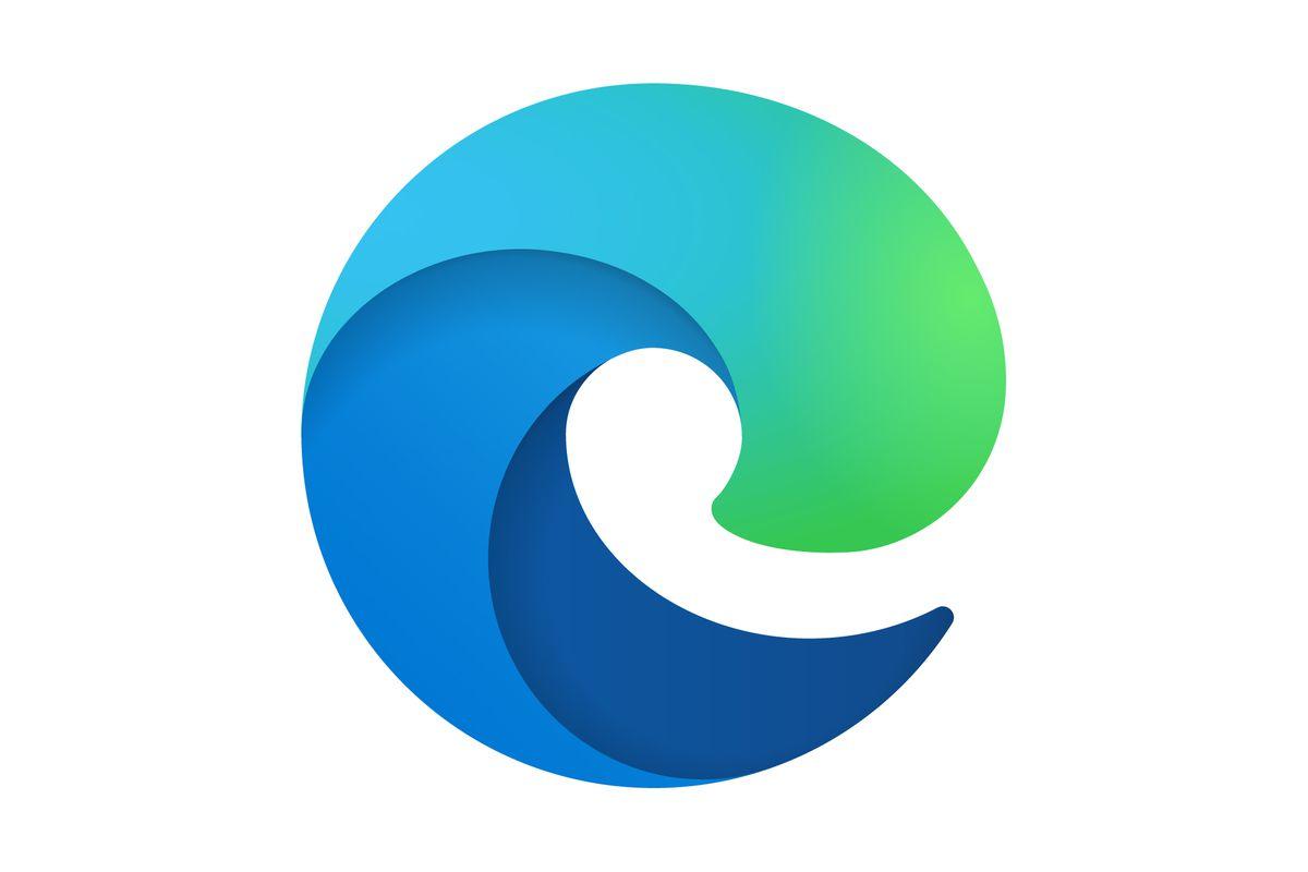 Браузер Edge лого