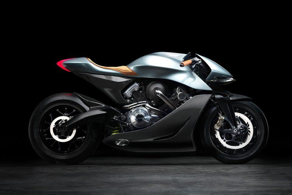 Aston Martin мотоцикл