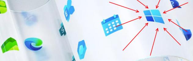 Красивий редизайн: Microsoft оновила логотип Windows та дизайн для 100+ іконок додатків