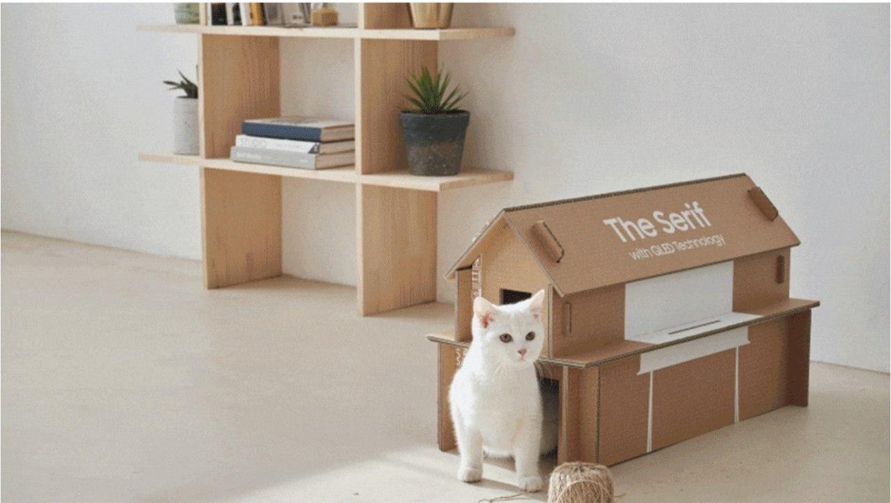 Eco-Package будинок для котиків
