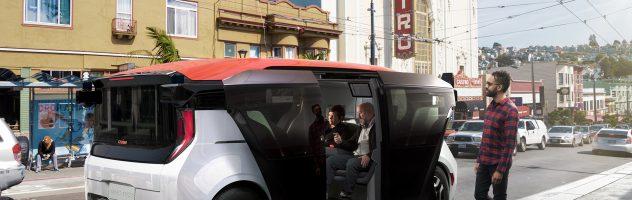 GM показала своє перше СЕРІЙНЕ авто-безпілотник Origin (ФОТО)