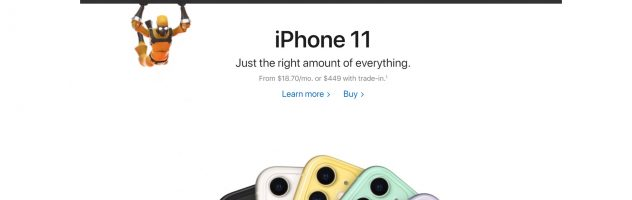 Давно Apple так не розважалася: зацініть головну сторінку apple.com